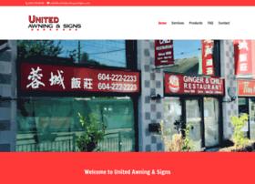 unitedawningandsigns.com