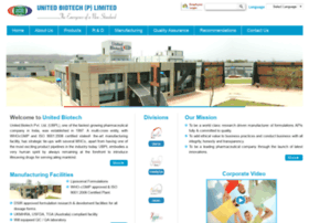 unitedbiotechindia.com