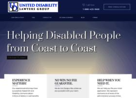 uniteddisabilitylawyers.com