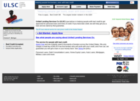 unitedlendingservices.com
