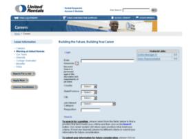 unitedrentals.apply2jobs.com