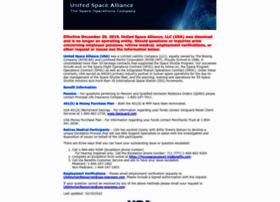 unitedspacealliance.com