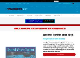 unitedvoicetalent.com