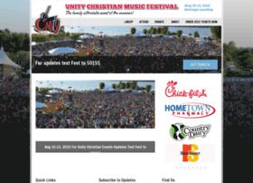 unitymusicfestival.com