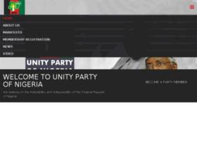 unitypartyofnigeria.net