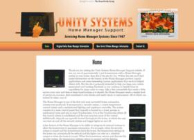 unitysystemshomemanager.com