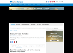 universal-remote-review.toptenreviews.com