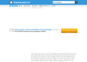 universal-share-downloader.programas-gratis.net