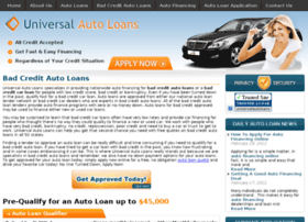Universalautoloans.com