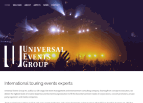 universaleventsgroup.com