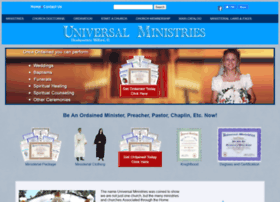 universalministries.com