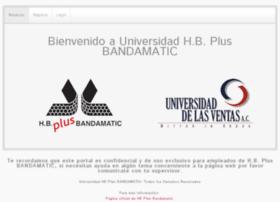 universidadhbplusbandamatic.com