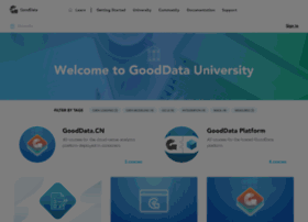 university.gooddata.com