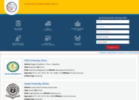 universityadmission.org.in