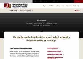 universitycollege.du.edu
