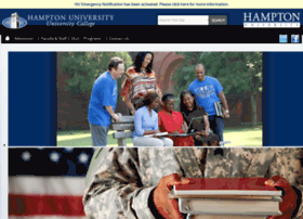 universitycollege.hamptonu.edu