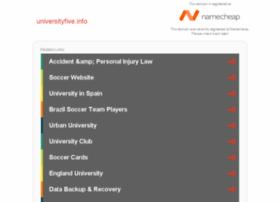 universityfive.info