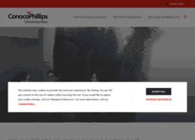 universityhires.conocophillips.com