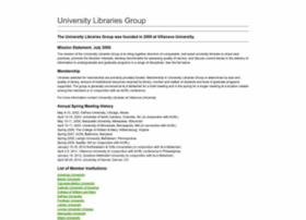 universitylibrariesgroup.org