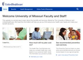 universitymissouri.welcometouhc.com
