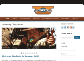 universityofoutdoors.com