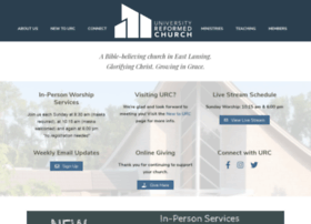 universityreformedchurch.org