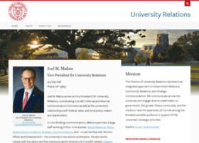 universityrelations.cornell.edu