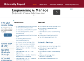 universityreport.net