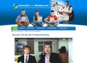 universityspeedreading.com