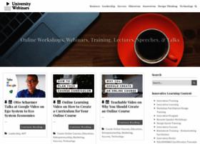 universitywebinars.org