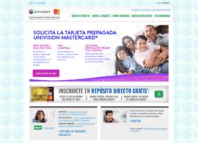univisiontarjeta.com
