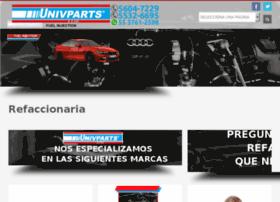 univpartsrefacciones.com