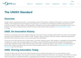 unix.org