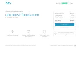 unknownfoods.com