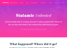 unlimited.statamic.com