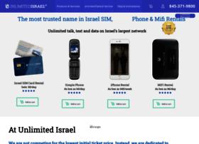 unlimitedisrael.net