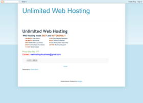 unlimitedwebhosting4all.blogspot.in