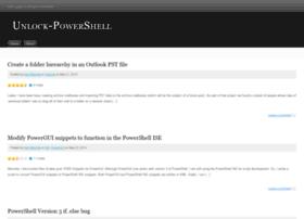 unlockpowershell.wordpress.com