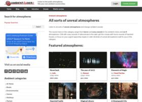 unreal.ambient-mixer.com