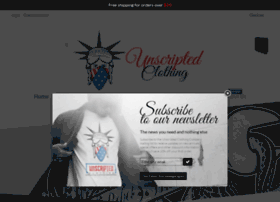 unscriptedclothingcompany.com