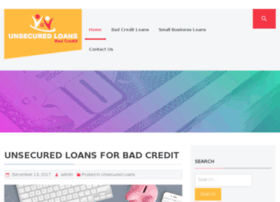 unsecuredloansforbadcredit.org.uk