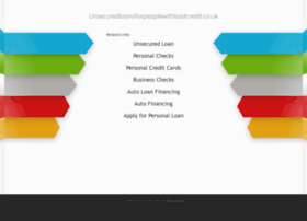 unsecuredloansforpeoplewithbadcredit.co.uk