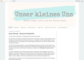unser-kleines-uns.blogspot.de