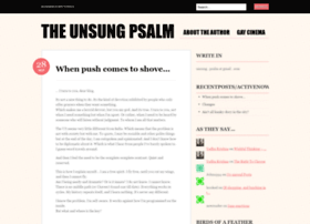 unsungpsalm.wordpress.com
