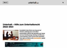 unterhalt.net