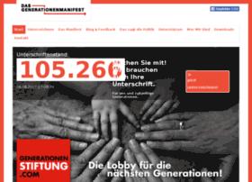 unterzeichnen.generationenmanifest.de