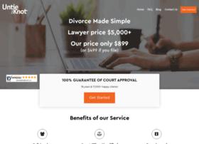 Help filing divorce papers in california