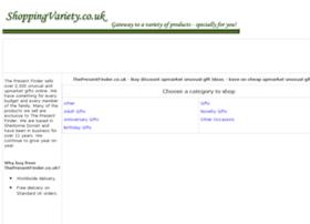 unusual-upmarket-gifts.shoppingvariety.co.uk