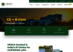 upaca.edu.in