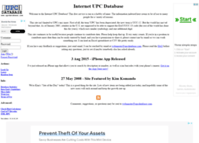 upcdatabase.com